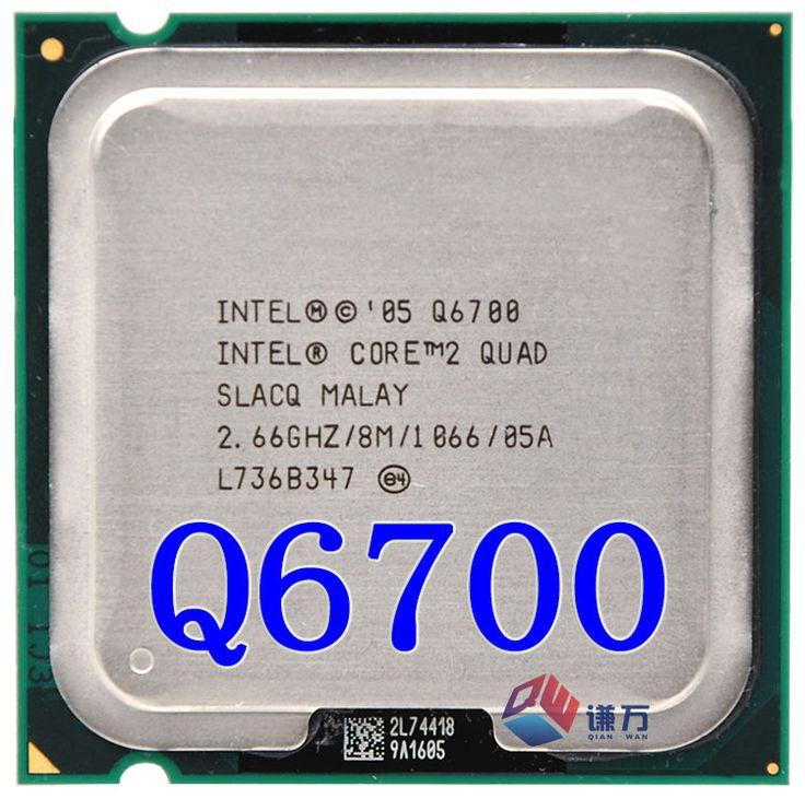$18.55 (Buy here: https://alitems.com/g/1e8d114494ebda23ff8b16525dc3e8/?i=5&ulp=https%3A%2F%2Fwww.aliexpress.com%2Fitem%2FCore-2-Quad-Q6700-Processor-2-66GHz-8MB-Quad-Core-FSB-1066-Desktop-LGA-775-Intel%2F32730499950.html ) Core 2 Quad Q6700 Processor 2.66GHz 8MB Quad-Core FSB 1066 Desktop LGA 775 Intel CPU for just $18.55