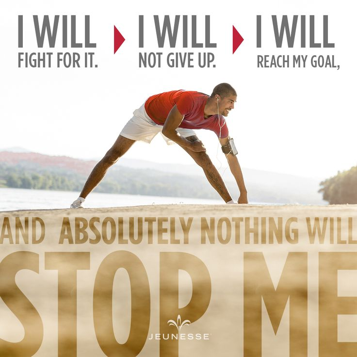 I will fight for it. I will not give up. I will reach my goal, and absolutely nothing will stop me.  https://amroud.jeunesseglobal.com/en-US/