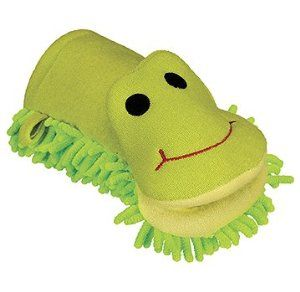Kingsley Terry Wash Mitt, Frog by Kingsley. $5.59. Country of origin: China. Please read all label information on delivery.. This playful frog bath mitt is made from ultra-soft terry cloth, providing a gentle scrub during bath time.