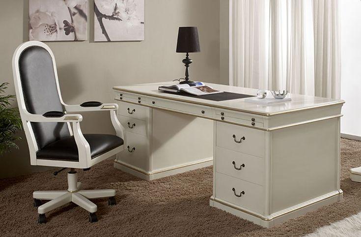 Mesa de Escritorio Clásica Austrel en Portobellodeluxe.com. Tu tienda de muebles de lujo