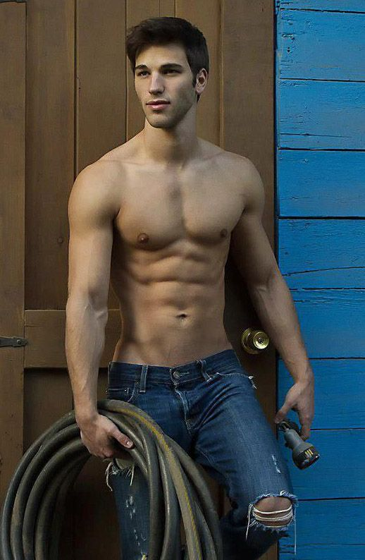 32 Best Images About Shirtless Guys Ripped Jeans On Pinterest