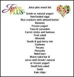 juice plus meal plan - Google Search