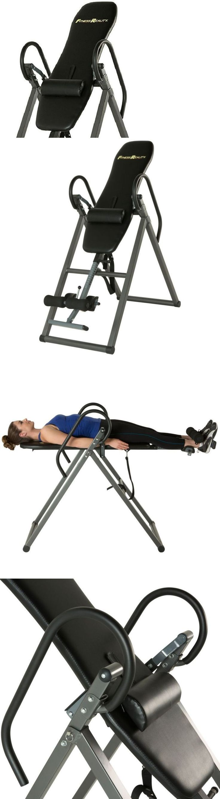 Inversion Tables 112954: Foldable Inversion Table W Lumbar Pillow Therapeutic Exercise Back Pain Relief -> BUY IT NOW ONLY: $152.29 on eBay! #InversionTables