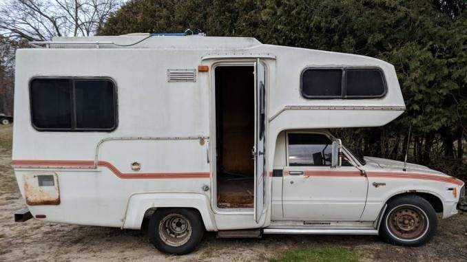 1982 Sunrader 18ft In Grand Rapids Mi Toyota Camper Motor Homes For Sale Toyota Motorhome