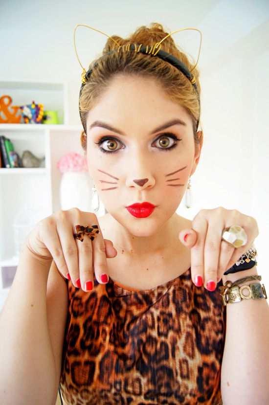 how to make kitty whiskers with string