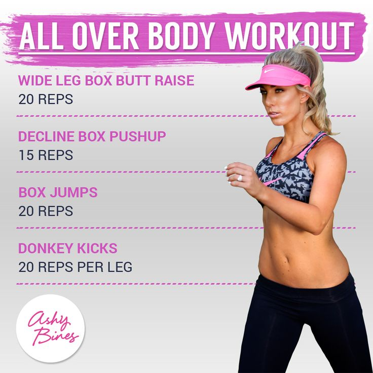 All over body workout!