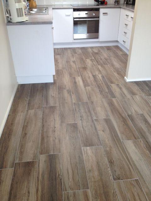 Floor: Timber Look 800 x 200mm Floor tiles. Natura Selva.