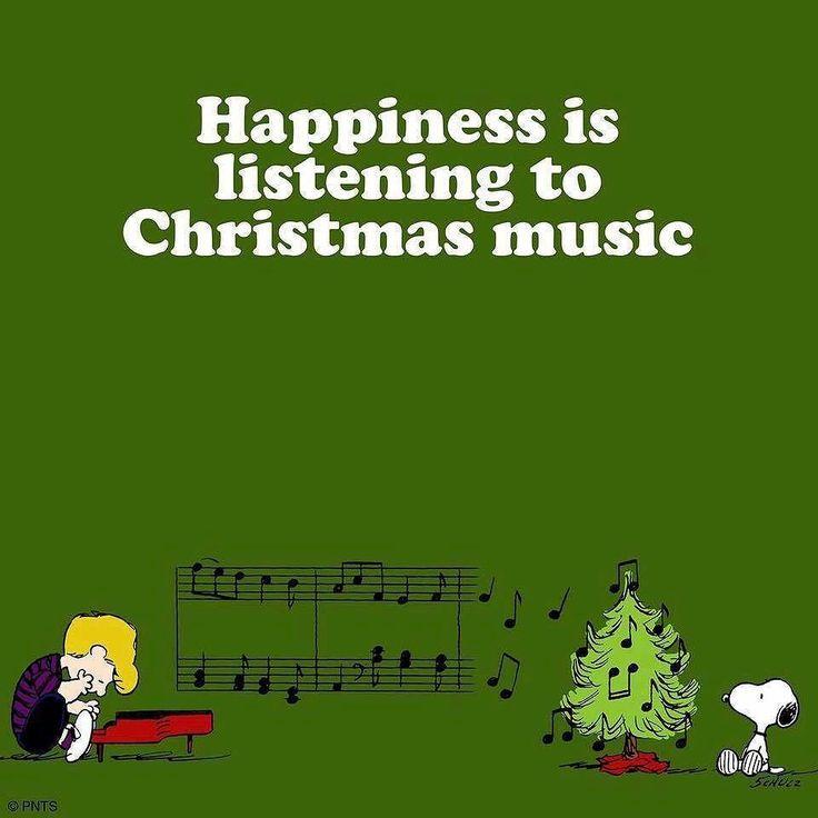Fa la la.... lalalaaaaa! Happy Wednesday! | Listen to christmas music, Peanuts christmas ...