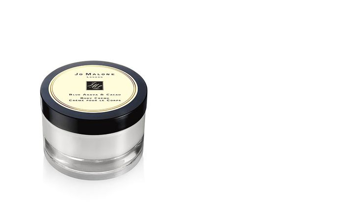 Jo Malone Blue Agava and Cocoa body lotion available on jomalone.com and at Neiman's