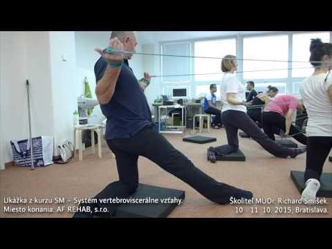 Príklad tréningu - Kurz SM – Systém vertebroviscerálne vzťahy - YouTube