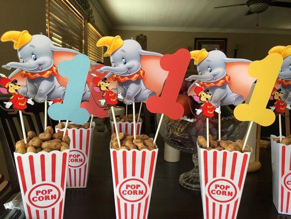 Dumbo Birthday Party Centerpiece Circus birthday party