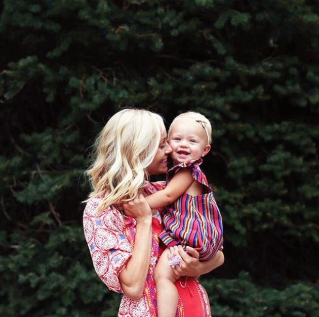 Hailey Devine and the sweetest Lucy rocking the Nena Kiddos look. Just can't get enough!