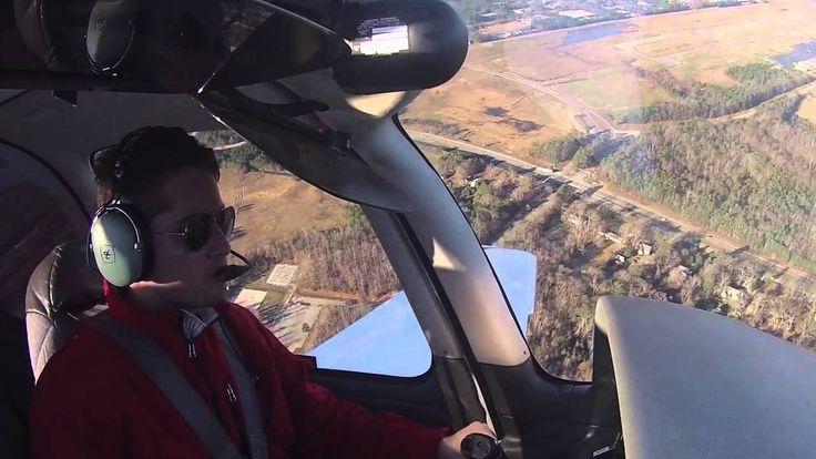 First Solo Flight Cirrus SR20 - Americo Silva - KFCI