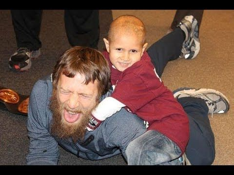 WWE Tribute To Connor Michalek - R.I.P 2005-2014...I don't like wrestling but this is a sweet story