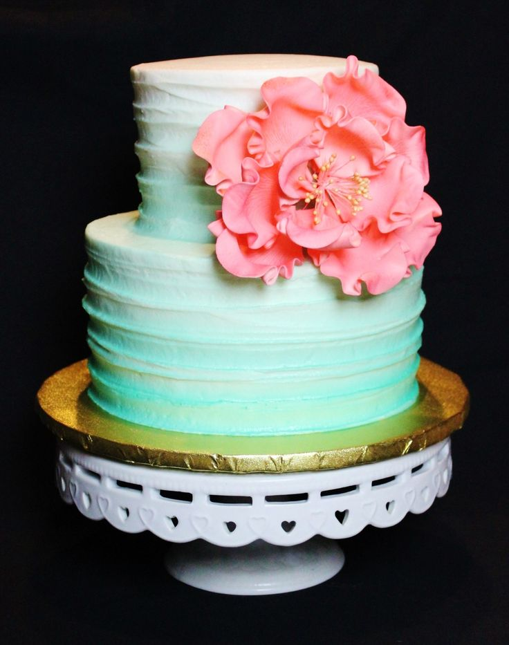 mint green ombre wedding cake 1000 images about baby shower cakes on mint 17448