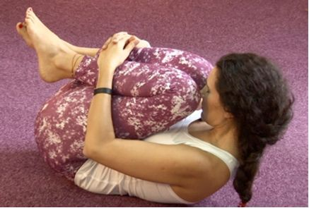 Yoga exercise for Gases and Bloated Stomach Relief