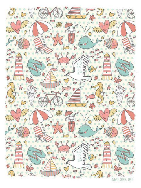 Give Us Space Art Print Children's Spaces | Patterns for Babies | Art Print | Illustration | Poster | Decoração Infantil | Padronagem para Bebês | Wallpaper | Ilustração para Impressão #Kids #Ilustración #doodle Julia Grigorieva ✭Teresa Restegui http://www.pinterest.com/teretegui/ ✭