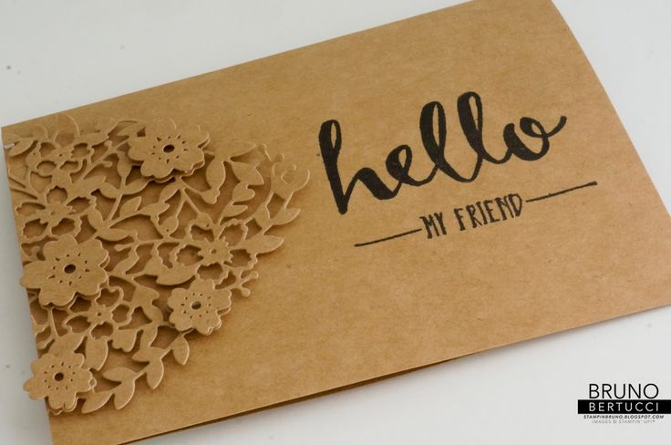 Bruno Bertucci | Stampin' Up! | stampinbruno | 2016 Occasions Catalogue | 2016 Sale-a-Bration | Hello | Bloomin Hearts | Handmade Card