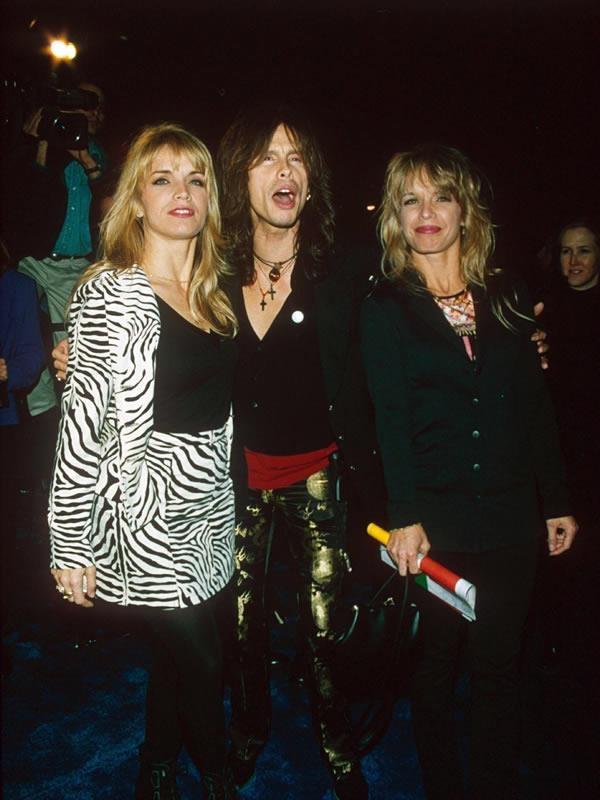 Steven Tyler With Teresa Barrick and Lisa Barrick