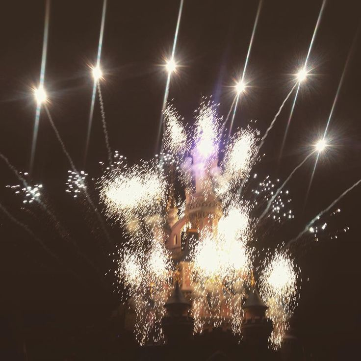 Fireworks at Disneyland, Paris
