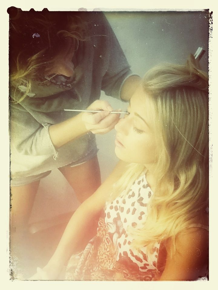 behind the scene  Andra #SS14