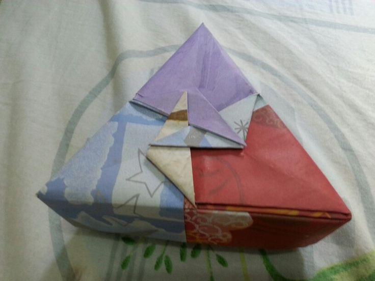 Origami gift box buatan tangan #handmade #diy