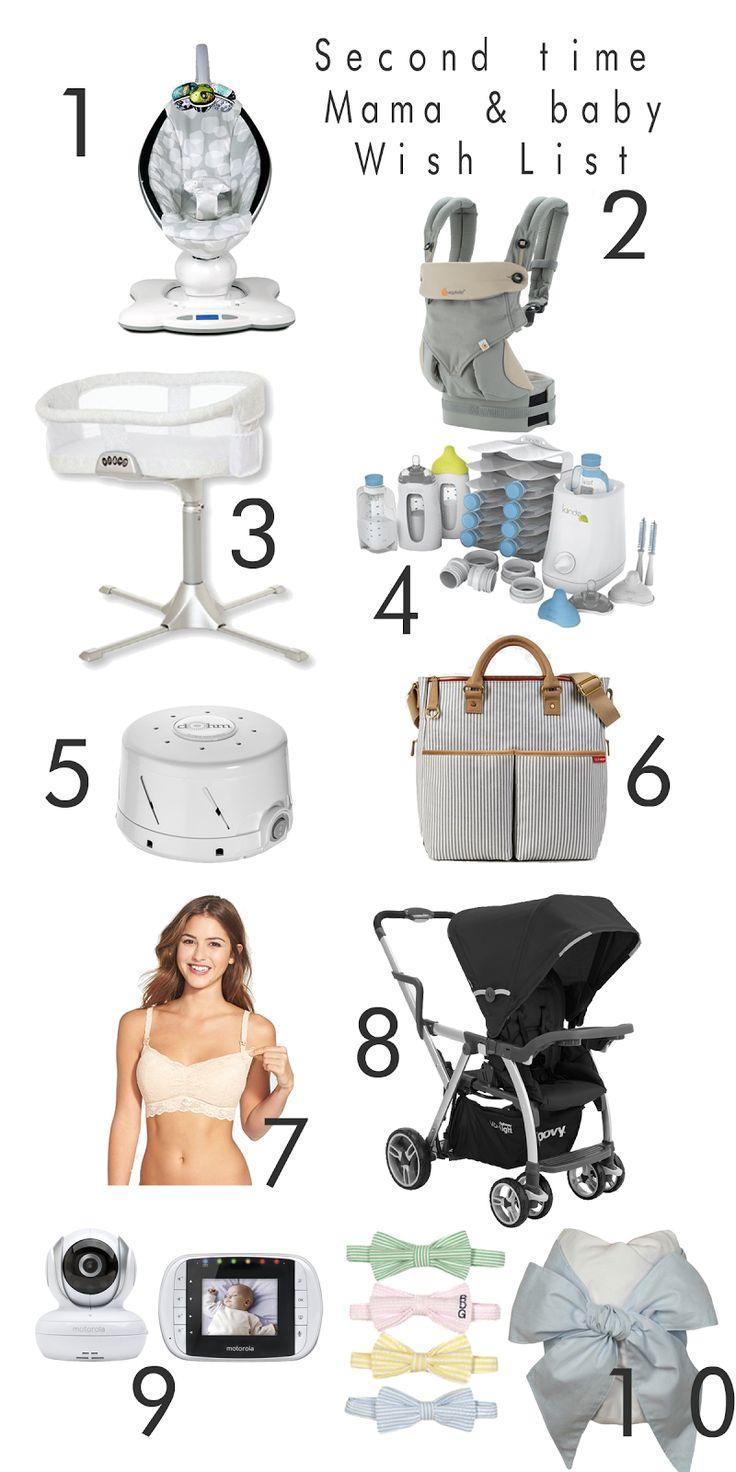 sarah tucker : Second time Mama & Baby Wish List