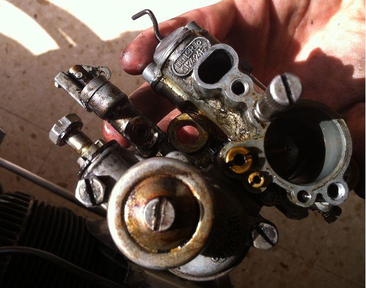 Limpieza de un carburador