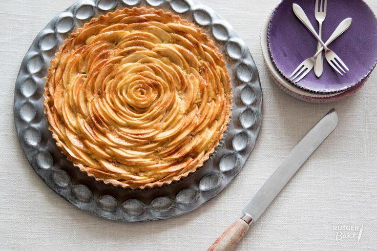Recept: Franse appeltaart met frangipane