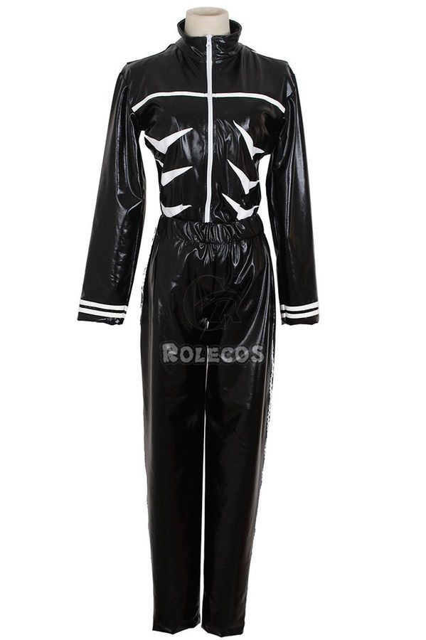 1d2fb55d8e86 Tokyo Ghoul Kaneki Ken Black Hoodie Sweater Leather Cosplay  Costume#Ken#Black#Kaneki