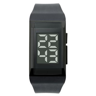 RELOJ DE PULSO DIGITAL MAZZ REF:VIP-33   Reloj de Pulso Dígital.  En Acero y Correa de Silicona con Cierre Extendible.  Este Producto Se Vende Sin Marca.  Tipo de Producto: IMPORTADO  Medidas: 3 cm ancho x 6.8 cm de diámetro de pulso.  Color Disponible: Negro.