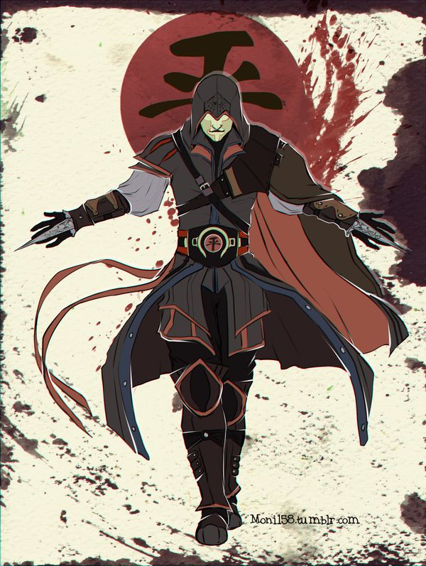 Assassin's Creed Avatar the Last Airbender