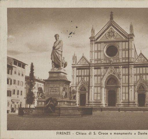 Althea Hurst album, 1938. Cartoline fron Florence (Italy)