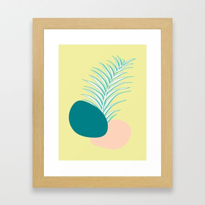 Buy Spring Palm #society6 #spring Framed Art Print by designdn. Worldwide shipping available at Society6.com. Just one of millions of high quality products available.