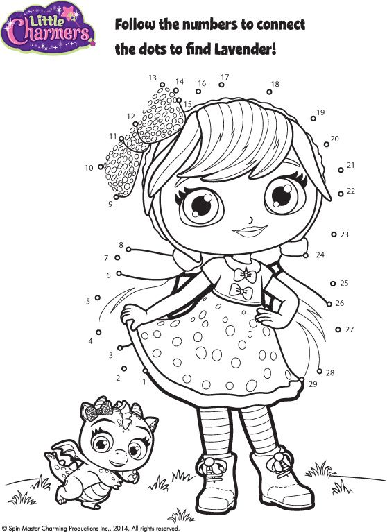 little charmers coloring pages printable - photo#10
