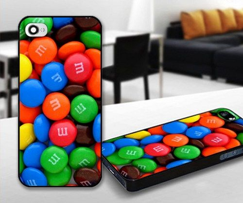 Candy Chocollate for iPhone 5 Black case | iPhoneCustomCase - Accessories on ArtFire