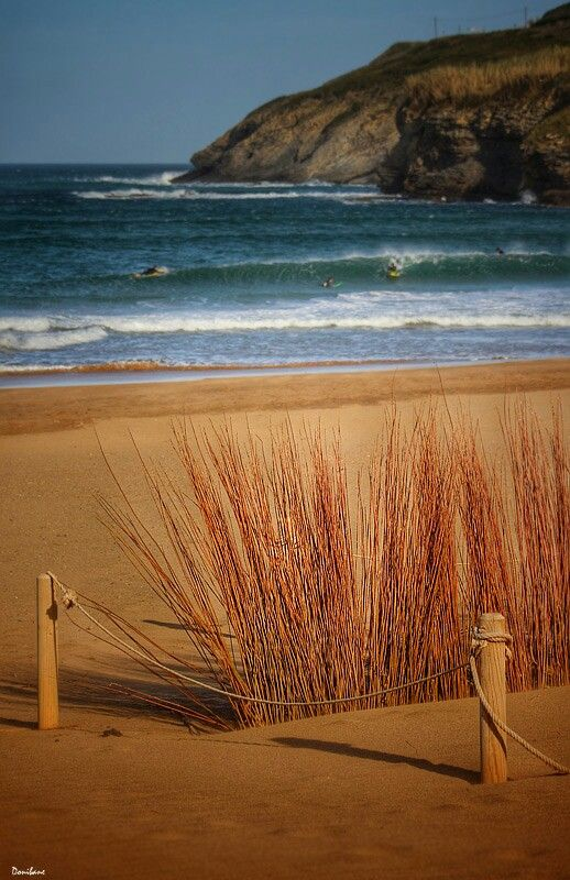 The Arena Beach by Donibane.  #beach #surf #surfer #surfing #playa #landscape #paisaje #sea #nature #naturaleza #wave #ola #muskiz #basquecountry #basque #bilbao #bizkaia
