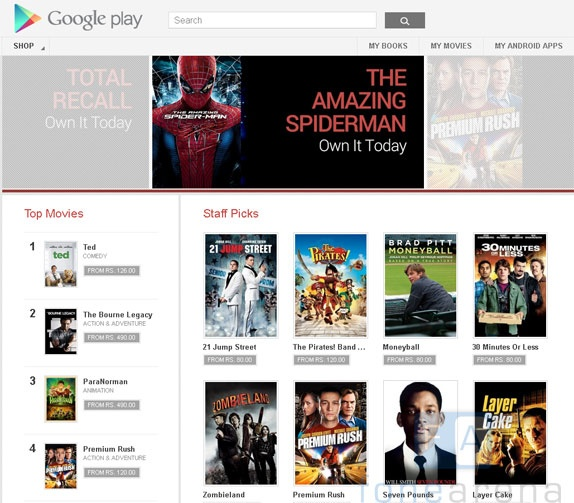 Google Play Movies now available on India and Mexico