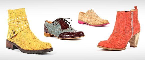 """A nova colecção Outono-Inverno da Rutz é inspirada nas Rendas de Bilros. A marca que tem como matéria-prima principal a cortiça foi buscar elementos que compõem estas rendas, apresentando assim uma gama de calçado ligada ao mar de nome """"Sea Letters Collection""""."""