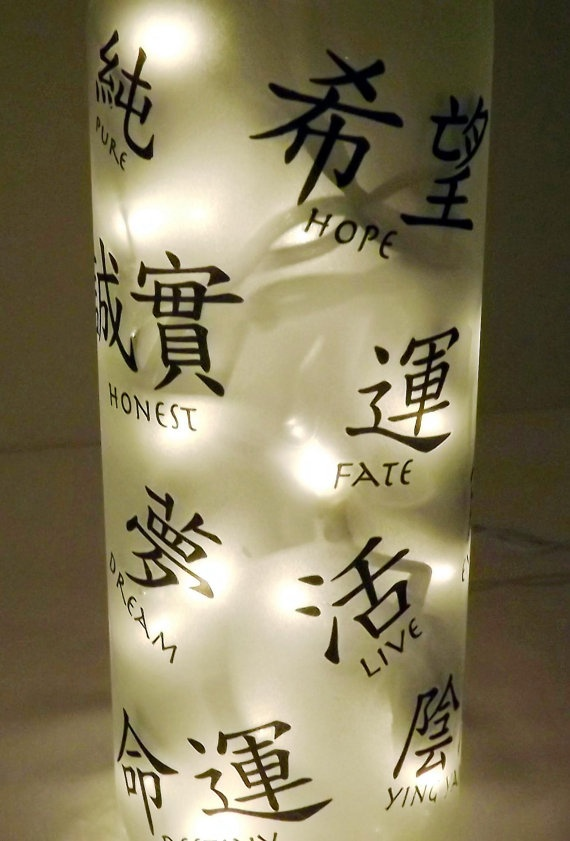 WORDS of Wisdom Recycled Bottle Accent Lamp/Light by CanDezign, $19.00: Words Of Wisdom, Word Of Wisdom, Accent Lights, Accent Lamps Lights, Wisdom Recycled, Recycled Bottles, Glasses Bottle, Bottle Accent, 19 00