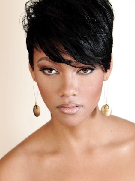 Brief Black Hairstyles For Girls Image Gallery - http://www.weddideas.com/hairstyle-ideas/brief-black-hairstyles-for-girls-image-gallery.html
