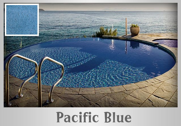 11 best images about pools with pacific blue hydrazzo for Pacific pools