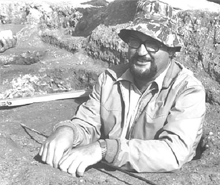 Carlo Tronchetti sullo scavo #monteprama