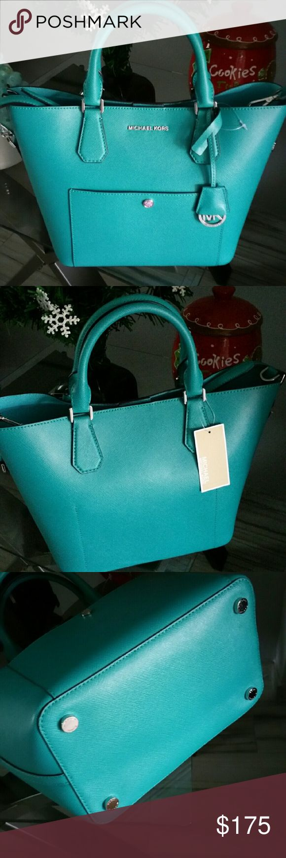 Michael Kors Greenwich bag PRICES ARE FIRM,I ALREADY LOWERED ALL MY PRICES New Tv 400 Michael Kors Bags Shoulder Bags