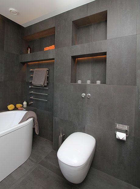 Badrum i jordnra frger  Ddermans  Moderna badrum