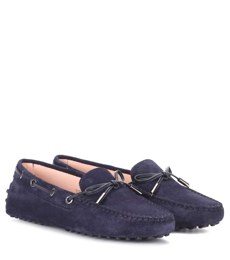 TOD'S | Gommino suede loafers #Shoes #TOD'S