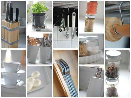 Organized Kitchen Ordnung In Der Küche