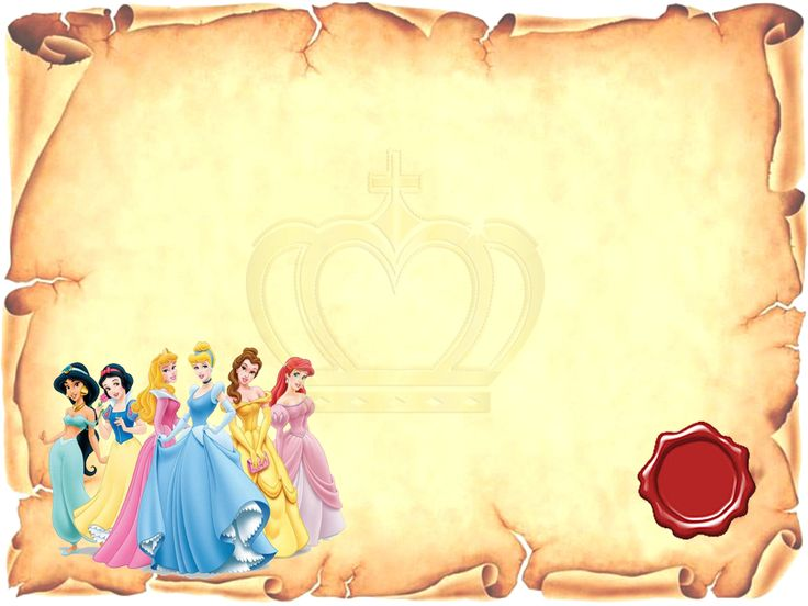 Disney Princess: Free Printable Invitations or Photo Frames. | Oh ...
