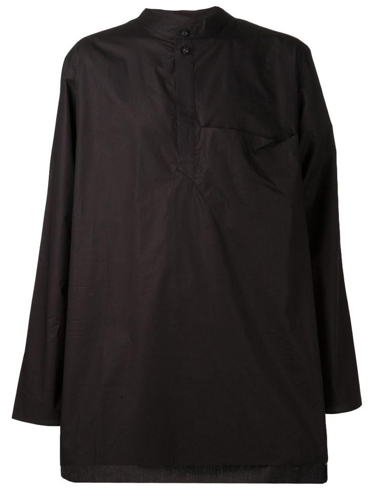 Isabel Benenato oversized shirt