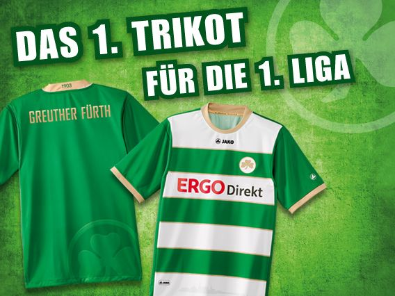 Greuther Furth Home Kit 2012/13 Jako